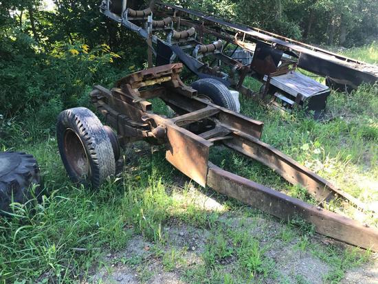 Trailer transport buggy wheels