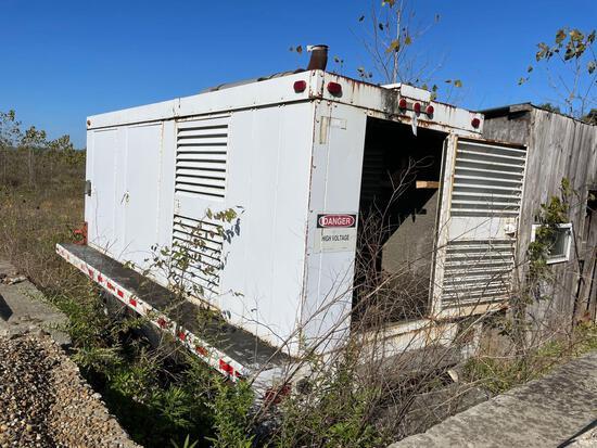 Cummins diesel 175kw generator with trailer