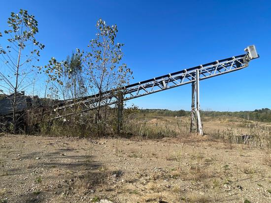 60 ft. Electric belt conveyor