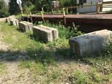 (16) Cement block wall units