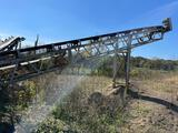 40 ft. hydraulic belt conveyor