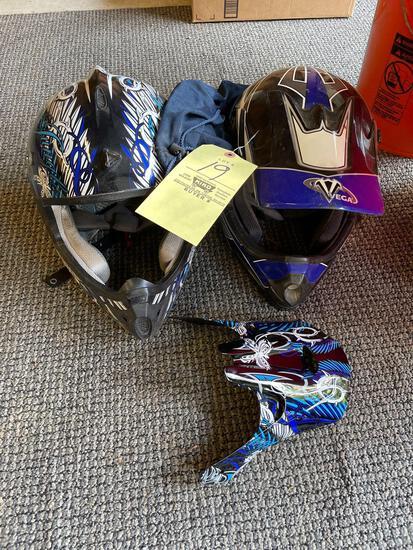 Four wheeler helmets