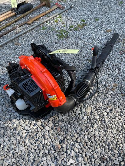 Echo PB-580T backpack blower, lightly used-like new