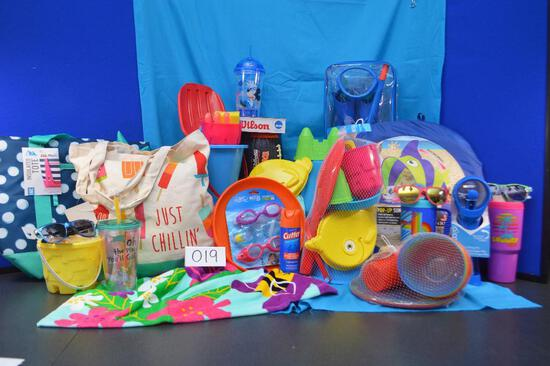 Be ready for the beach or pool with this basket!