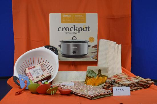 Crock Pot brand slow cooker and more!