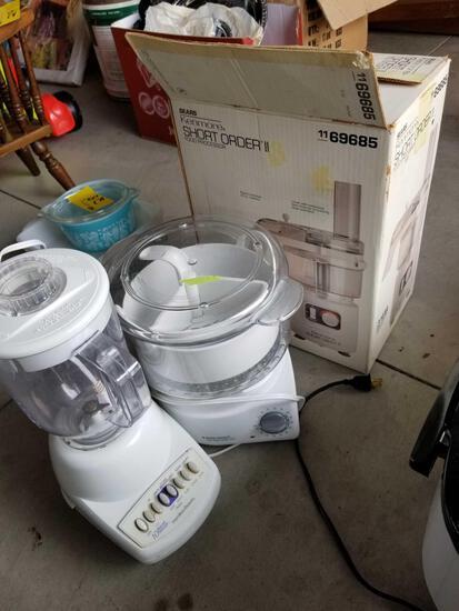 Blender, food processors