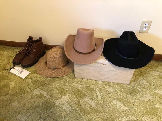 Western Hats, Justin Women's Size 9.5 Boots