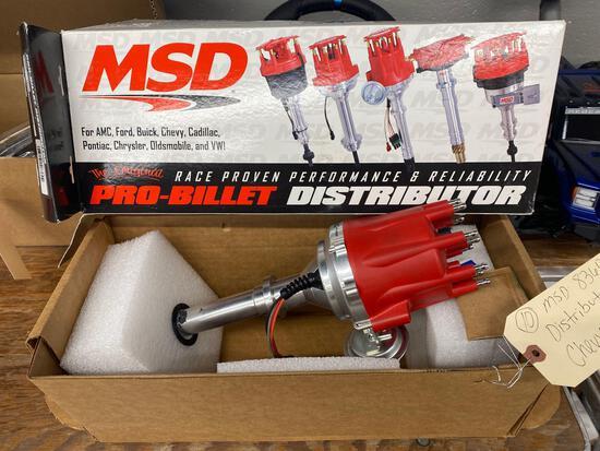 Msd 8360 distributor Chevy v-8
