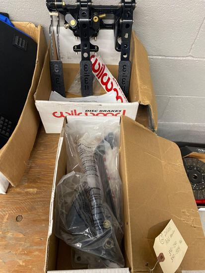 Wilwood pedal assemblies 2 340 Dash 12410, 340-13834 new