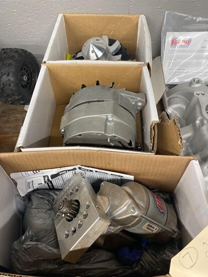 2 alternators 1-starter 811001- 810344 - 820311