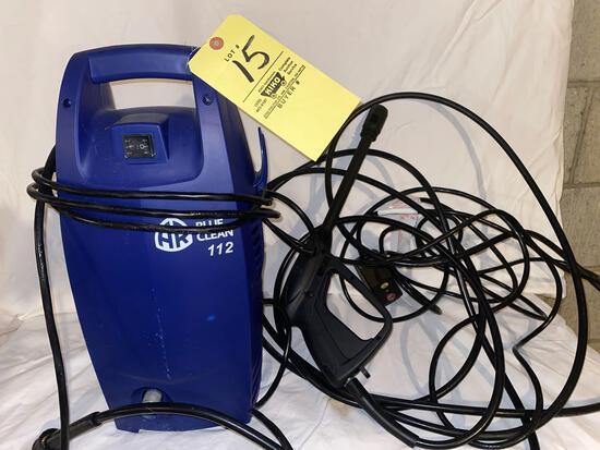 AR Blue Clean 112 power washer.