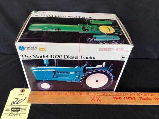 Ertl precision Classics John Deere model 4020 diesel 1/16 scale