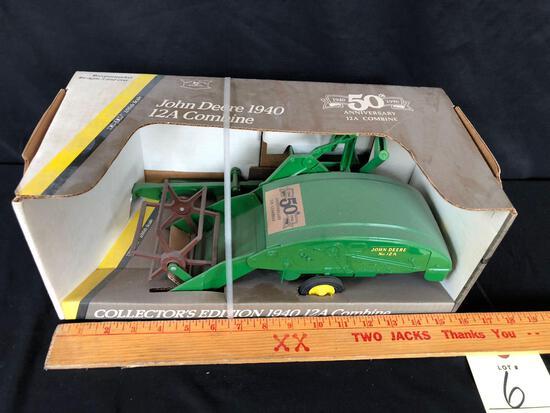 Ertl 1940 12A combine 50th anniversary 1/16 scale