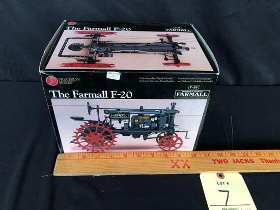 Ertl precision series McCormick ? Deering Farmall F 20 1/16 scale