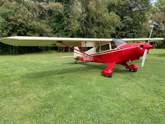 1947 piper PA12, 3 place, 0235 eng, 500 hrs total time