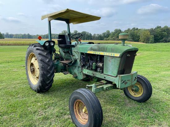 John Deere 2010 tractor gas, wf, rops,