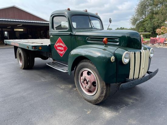 1947 1 1/2 ton Ford, flat head v-8 eng.
