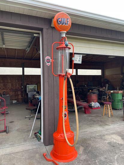 Gulf 10ft gas pump