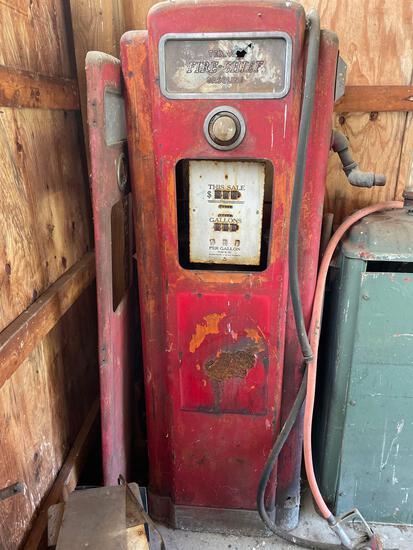 Texaco Chief gas pump