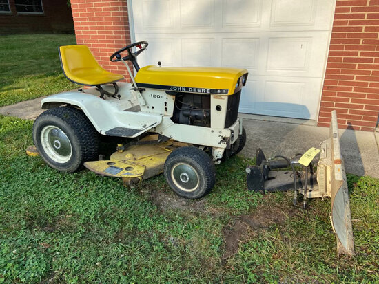 JD Lawn Tractor - Household - 18063 - Doug