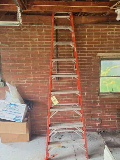 10ft fiberglass extension ladder