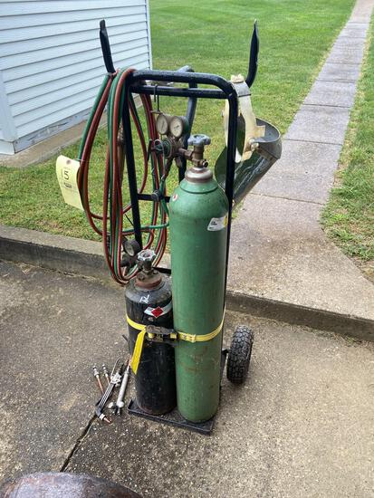 Welding Cart and Torches