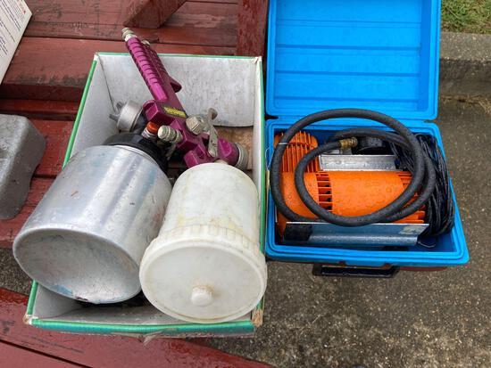 Spray Guns and Intercompressor