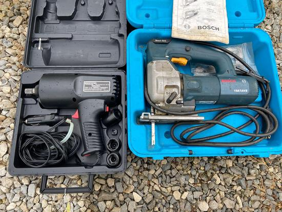 Bosch Jig Saw, Chicago Impact Wrench