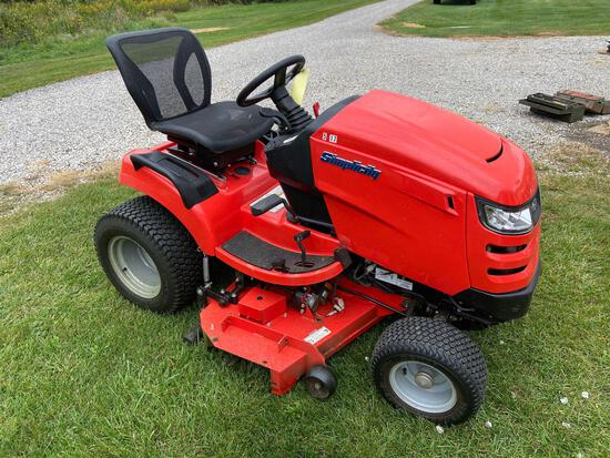 Clean Simplicity Lawn Tractor