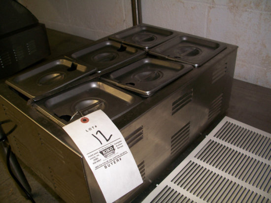 Admiral Craft Equipment Co. Food Warmer