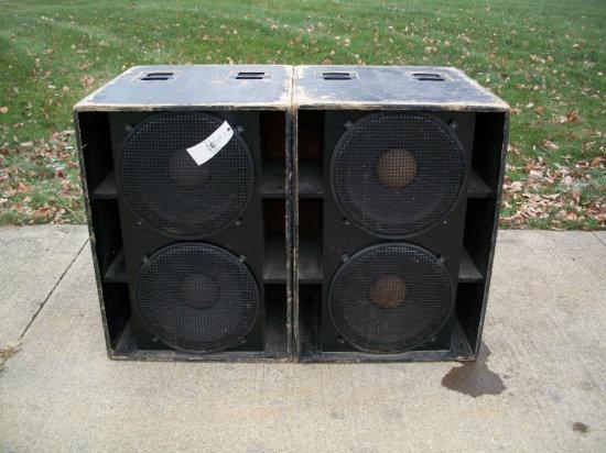 "Double 18"" Boxes EV-X 180 Elecro-Voice Speakers 600 watt RMS"