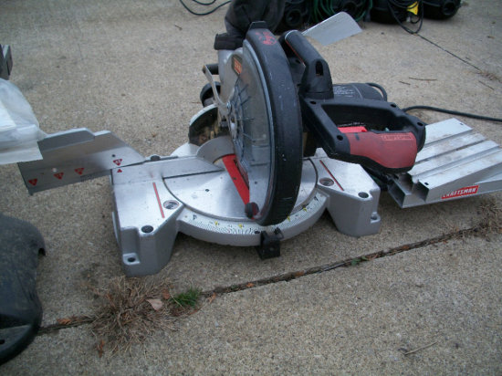 Craftsman Power miter saw