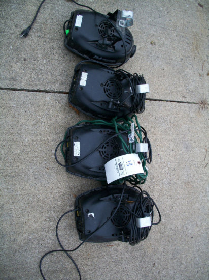 DJ Scan 250HP (3 work, 1 for parts)