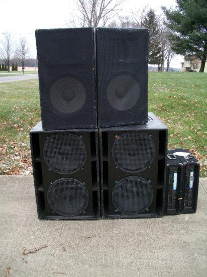 Speakers - Amps