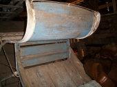Barn Primitives, AC Tractors, Wagons, Antique 5943