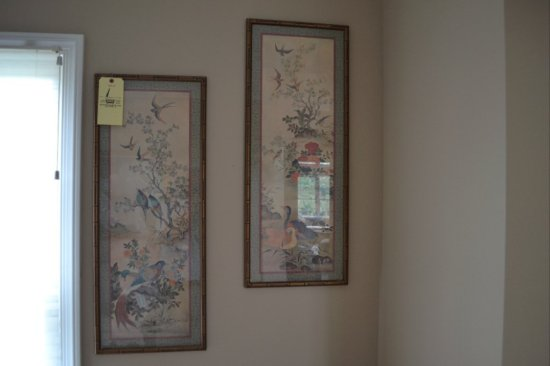 Pair of Oriental Stle Pictures
