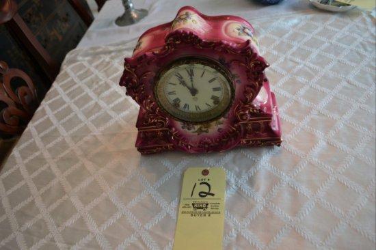 Ansonia China Mantle Clock