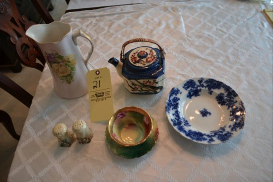 China & Hand Painted Dishes
