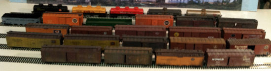 (25) Assorted Steam Era Freight Cars