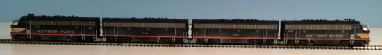 InterMountain F7/A/B/B/A (Phase 1) Souther Pacific Locomotive