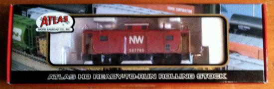 Atlas #6315-2 Norfolk & Western NE-6 Caboose #557780
