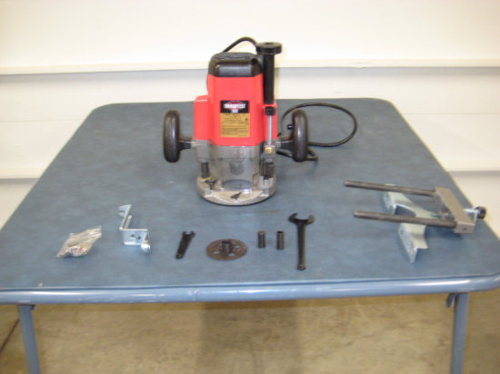 "1/2 Handy ""Toughtest"" Plunge Router"
