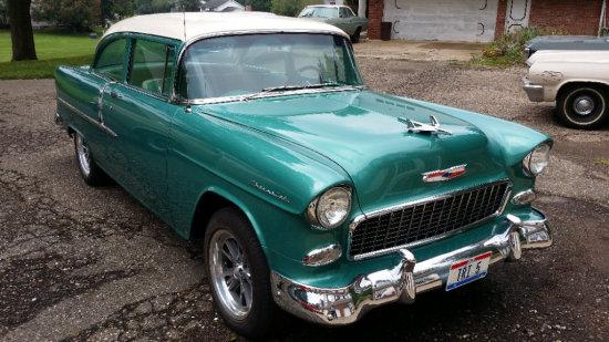 1955 Chevy 2 Door Sedan