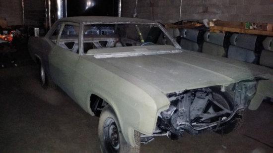 1966 Chevy Biscayne 2 Door Sedan