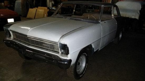 1966 Chevy II Nova 2 Door Sedan
