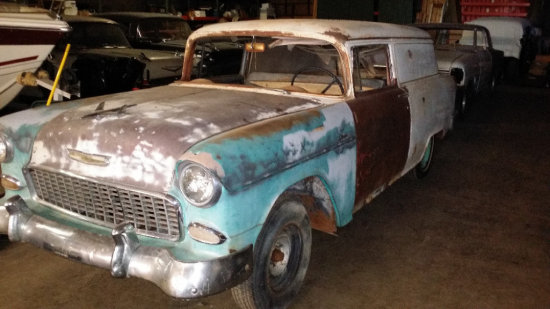 1955 Chevy Delivery