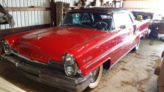 1957 Lincoln Premier Convertible