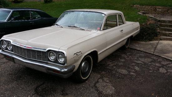 1964 Chevy Biscayne 2 Door Sedan