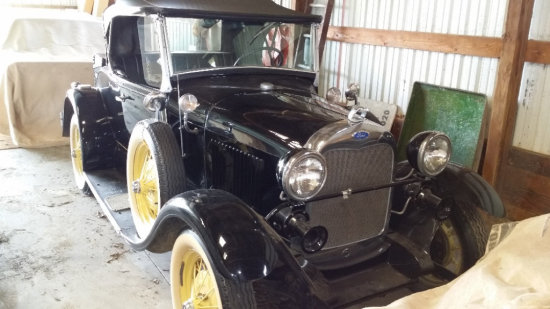 1988 Ford Shay Model A
