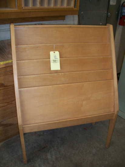 Magazine Stand and Slant top cabinet
